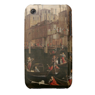 Wooden Rialto Bridge, from the Miracle of the Reli iPhone 3 Cases