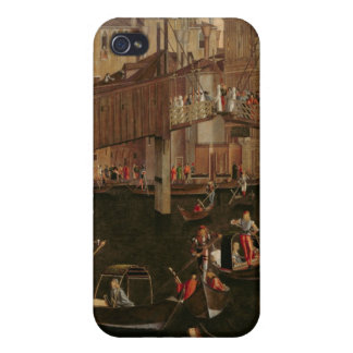 Wooden Rialto Bridge, from the Miracle of the Reli iPhone 4 Case