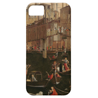 Wooden Rialto Bridge, from the Miracle of the Reli iPhone 5 Covers