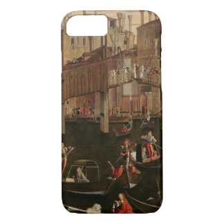 Wooden Rialto Bridge, from the Miracle of the Reli iPhone 7 Case