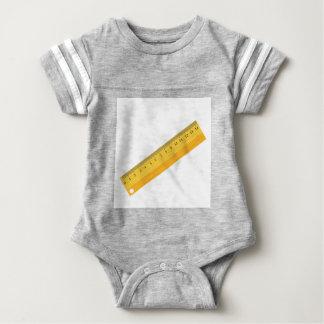 wooden ruler baby bodysuit