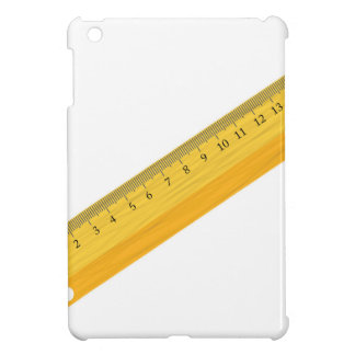 wooden ruler iPad mini cover