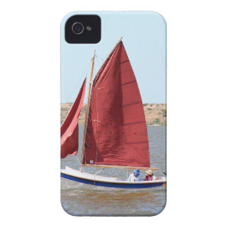 Wooden sail boat Case-Mate iPhone 4 case