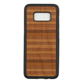 Wooden Samsung Galaxy S8 Slim Cherry Wood Case
