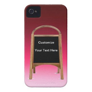 Wooden Sandwich Board iPhone 4 Case-Mate Case