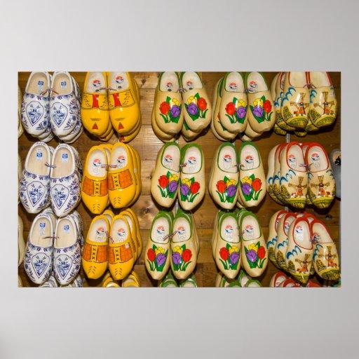 Wooden Shoes, Dutch Village Shop, Noordhuizen Posters