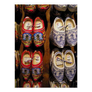 Wooden Shoes Poster