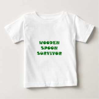 Wooden Spoon Survivor Baby T-Shirt