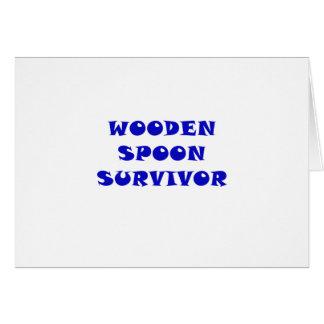 Wooden Spoon Survivor Card