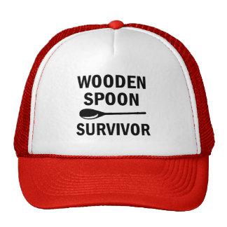 Wooden spoon survivor funny hat