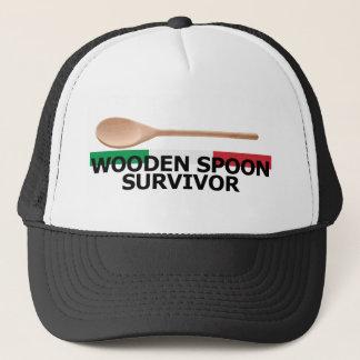 Wooden Spoon Survivor Trucker Hat