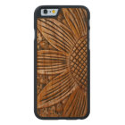 Wooden Sunflower Print Carved® Wood iPhone 6 6S Carved Cherry iPhone 6 Case