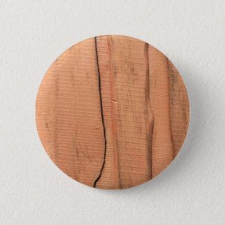 Wooden texture 2 inch round button