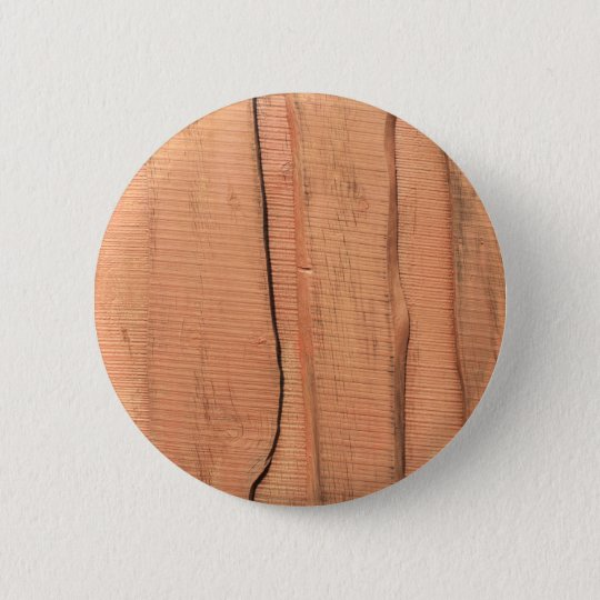 Wooden texture 2 inch round button