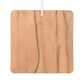 Wooden texture air freshener