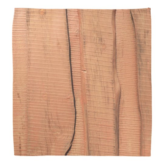 Wooden texture bandana