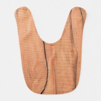 Wooden texture bib
