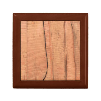 Wooden texture gift box