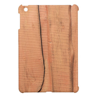 Wooden texture iPad mini case