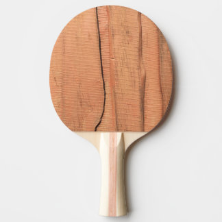 Wooden texture ping pong paddle