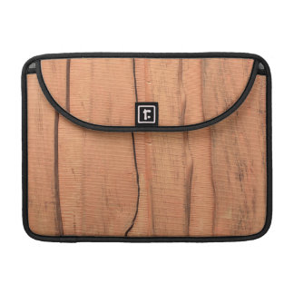 Wooden texture sleeve for MacBooks
