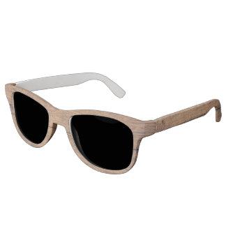 Wooden texture sunglasses