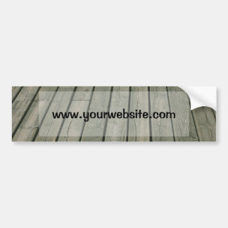 Wooden Texture, Wood Pattern, Planks Bumper Stickers