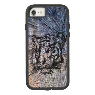 Wooden Tiger Blue Case-Mate Tough Extreme iPhone 8/7 Case