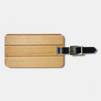 Wooden Tiles Luggage Tag