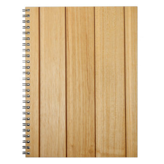 Wooden Tiles Photo Notebook