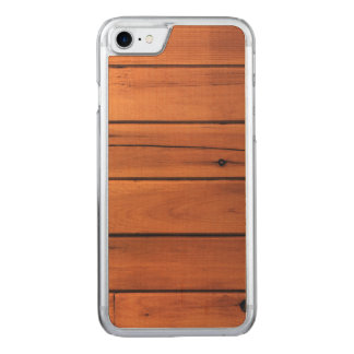 Wooden wall carved iPhone 7 case