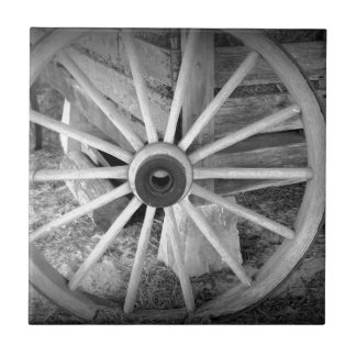 Wooden Wheel Tile
