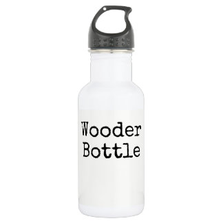"""Wooder Bottle"" water bottle"