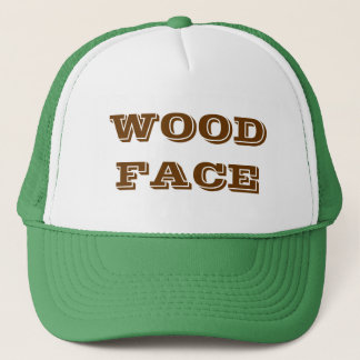WOODFACE TRUCKER HAT