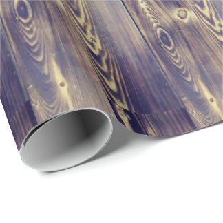 Woodgrain Art Wrapping Paper