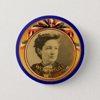 Woodhull for President 2 Inch Round Button