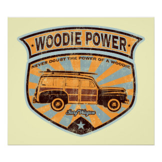 Woodie Wagon poster