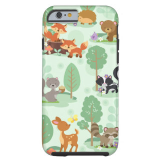 Woodland Animal iPhone 6/6S Case