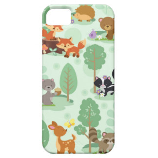 Woodland Animals Apple iPhone SE + iPhone 5/5S iPhone 5 Covers