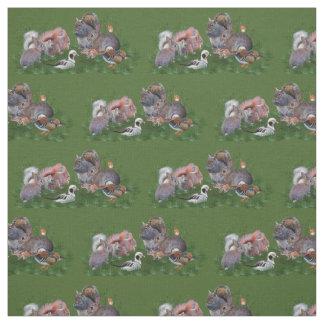 Woodland Animals Fabric