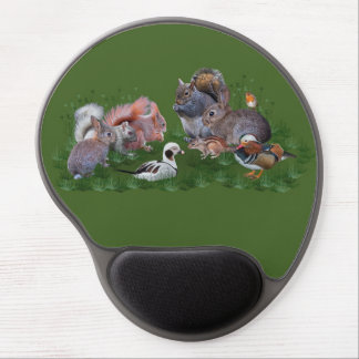 Woodland Animals Gel Mousemat Gel Mouse Pad
