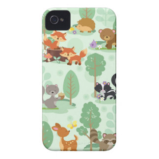 Woodland Animals iPhone 4 Phone Case
