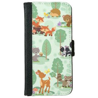 Woodland Animals iPhone 6/6S Wallet Case