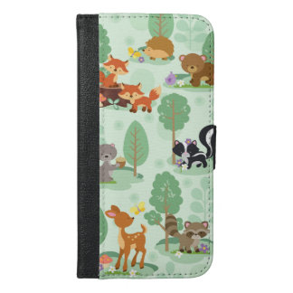 Woodland Animals iPhone 6/6S Wallet Phone Case