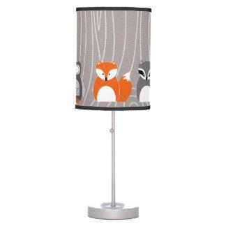 Woodland Animals Lamp