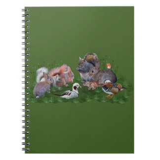 Woodland Animals Notebook