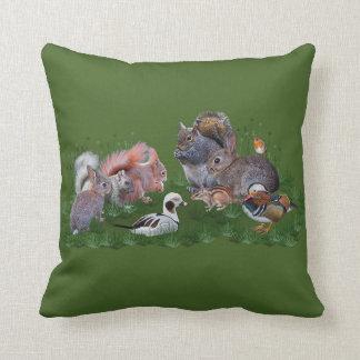 Woodland Animals Pillow
