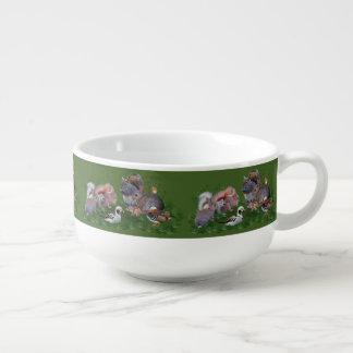 Woodland Animals Soup Mug