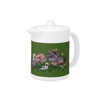 Woodland Animals Teapot
