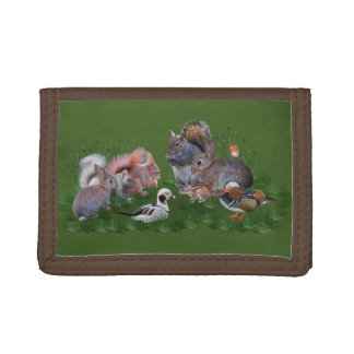 Woodland Animals Wallet